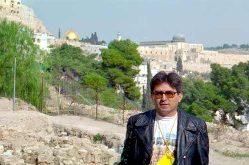 Henrique Chagas em Jerusalém