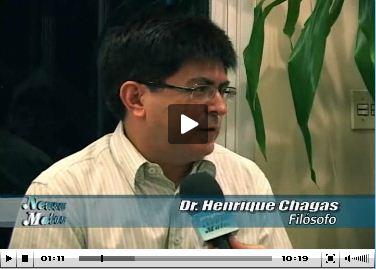 Henrique Chagas , da VerdesTrigos, fala na TV sobre Ética - Parte I