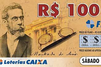 Loterias Caixa prestam homenagem a Machado de Assis